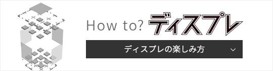 ディスプレの楽しみ方 How to? ディスプレ